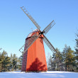 Wind mill, Finland — Stock Photo