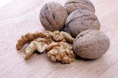 Close-up of a walnut — Stock Photo