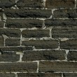 Weathered stained old brick wall — Foto de Stock