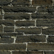 Weathered stained old brick wall — ストック写真