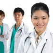 Portrait of a happy Asian Doctor — Stock Photo
