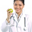 An Apple a day keeps the doctor away! — Stock Photo