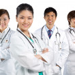 Portrait of a happy team of Doctors — Stock Photo #10364982