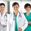 A team of a happy Doctors — Stock Photo