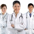 Portrait of a happy team of Doctors — Stock Photo #10365172