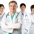 A team of a happy Doctors - Stock Photo