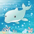 Baby Dolphin. — Stock Vector #10037434