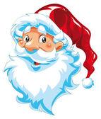 Santa Claus portrait — Stock Vector
