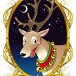 Reindeer - Christmas — Stock Vector #10069772