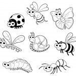 Постер, плакат: Bugs + 1 snail