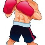 Boxeur — Stock Vector