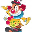 Royalty-Free Stock Vector Image: The clown.