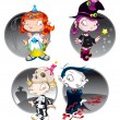 Halloween Characters — Stock Vector #10639534