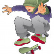 Royalty-Free Stock Vector Image: Skater boy