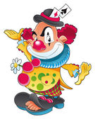 The clown. — Stock Vector