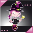 Little Witch — Stock Vector #9879591