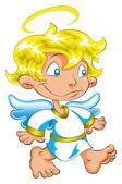 Petit ange — Vecteur