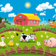 Farm illustration. — Stock Vector #9880451