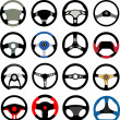 Steering wheel — Stockvector #10207782