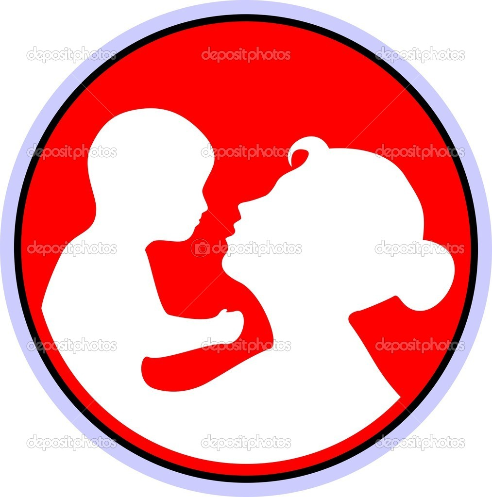 Mother and Child - Stock Illustration