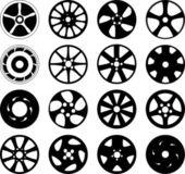 Wheel disks — Stock Vector