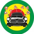 Stock Vector: Traffic regulations