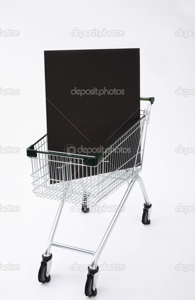 Shopping cart  Stock Photo #9733766