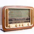 Stock Photo: Old radio