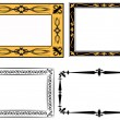 Royalty-Free Stock Vector Image: Set of frame