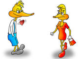 Sweet duck — Stock Photo