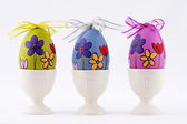 Hand painted easter eggs — Stock Photo