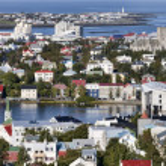 View of Reykjavik, Iceland — Stock Photo