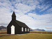 Исландский деревянная церковь — Стоковое фото