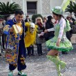 Menton: dances of Bolivia — Stock Photo