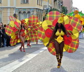 Menton: samba-2 — Stock Photo