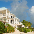 Caribbean Beachfront Home — Stock Photo