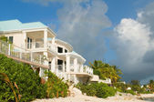 Caribbean Beachfront Home — Stock Photo