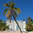 Caribbean Beachfront House — Stock Photo