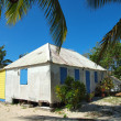 Stock Photo: Old CaribbeCottage Style Home