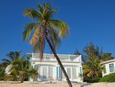Caribbean Beachfront House — Stock Photo