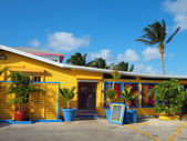 Cayman Islands Colourful Building — Stock Photo