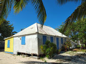 Old Caribbean Cottage Style Home — Stock Photo