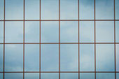 Windows of modern office building — Stock Photo