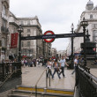 View of Piccadilly Circus, 2010 — Foto Stock #10098459