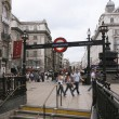 Stockfoto: View of Piccadilly Circus, 2010