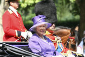Queen Elizabeth II and Prince Philip — Stock Photo