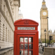 Royalty-Free Stock Photo: Big Ben and Red Telephone Booth