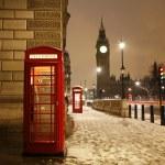 伦敦电话亭和大笨钟 — 图库照片