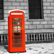 London Telephone Booth — Stock Photo