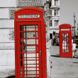 London Red Telephone Booth — Foto Stock